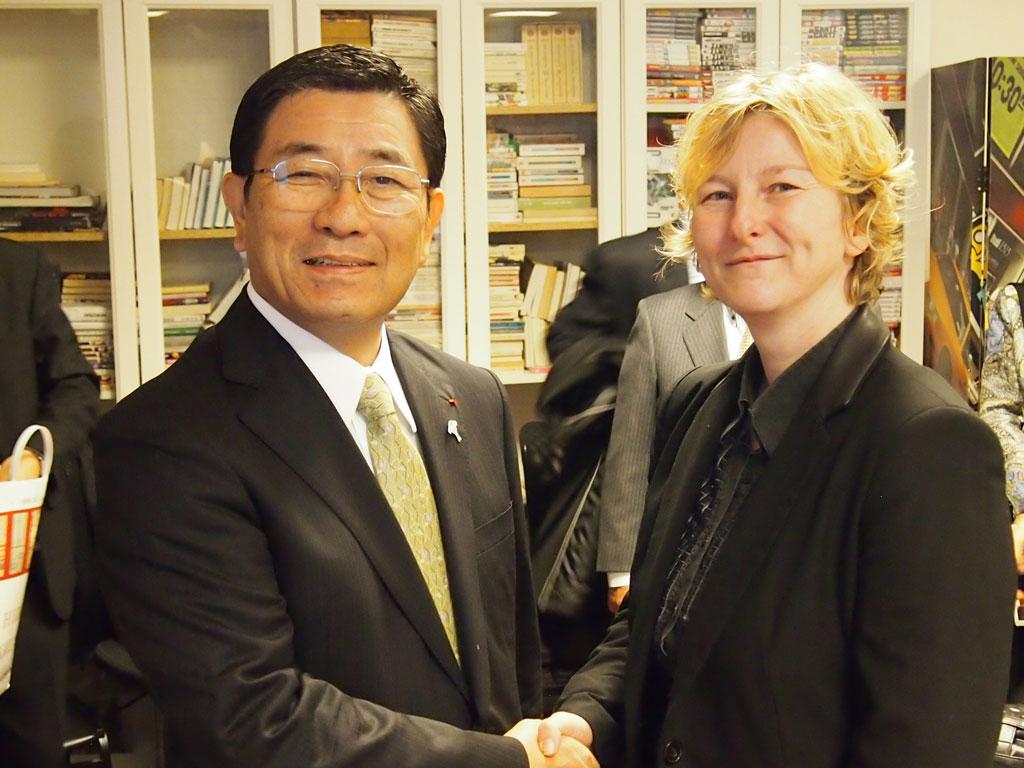 M. Hajime Furuta, gouverneur du département de Gifu à EURASIAM