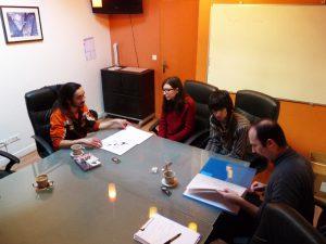 Visite de la maison d'édition AKATA